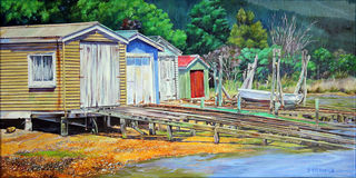 Queen Charlotte Drive Boat Sheds - $550
