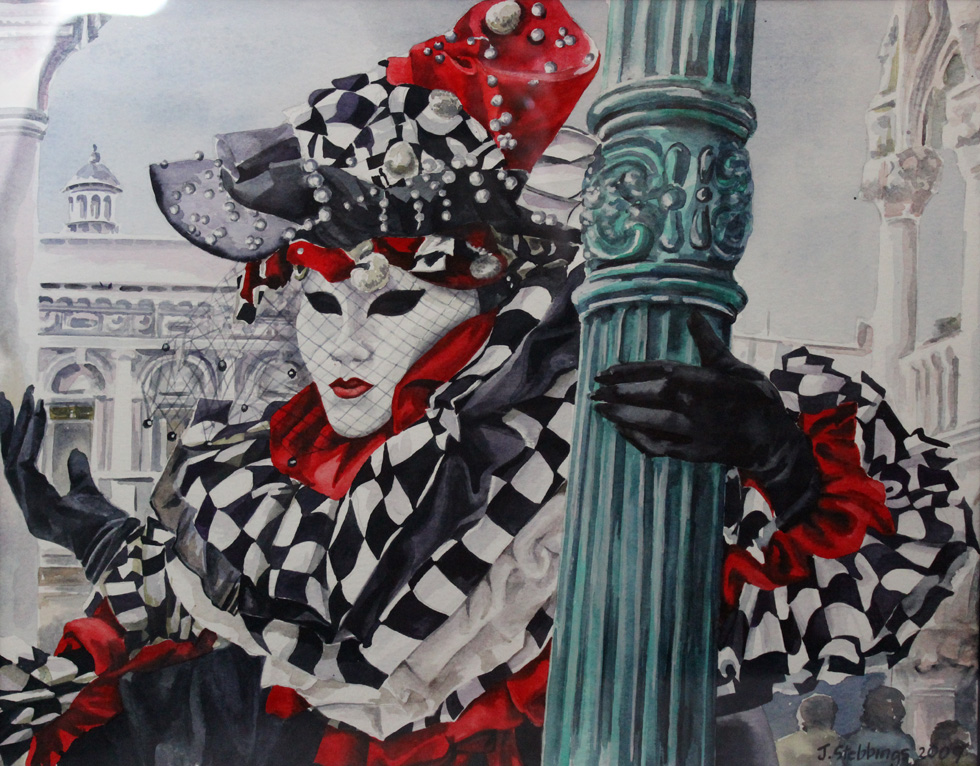 Venice Carnival - Not for Sale